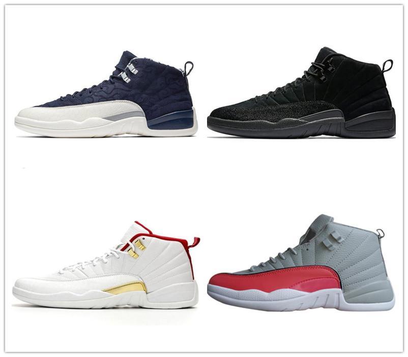 12 Erkek Basketbol Ayakkabıları 12s XII Jumpman 23 Koyu Concor Grip Oyunu Üniversitesi Altın Fiba Gama Sneakers