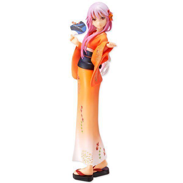 Schuldigen Krone Cartoon 2 Generation YUZURIHA INORI Kimono Figur Spielzeug 20 CM