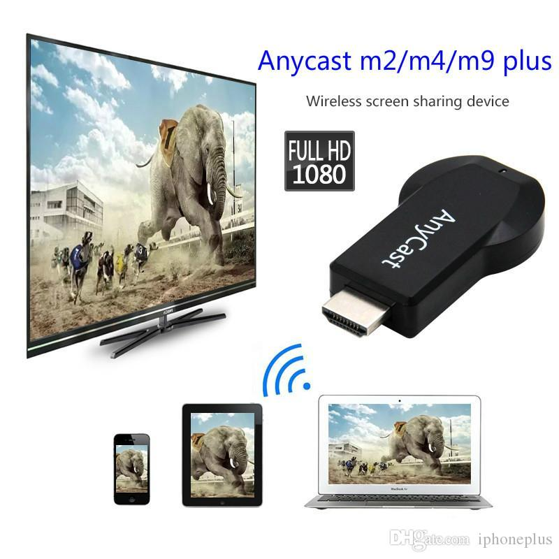 AnyCast M4 Plus WiFi Display Dongle Receiver Airplay Miracast HDMI TV  1080 up