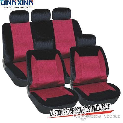 DinnXinn 111122F9 Buick 9 pcs full set velvet dog car seat covers in pet beds trading from China