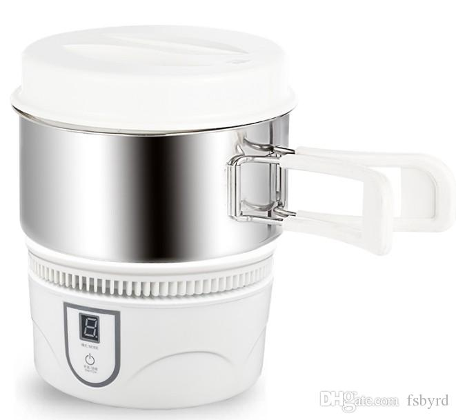Mini portátil toque indução fogão do chá fogão pequeno dormitório estudantil pequena panela quente 800W 220V Viagem elétrica panela