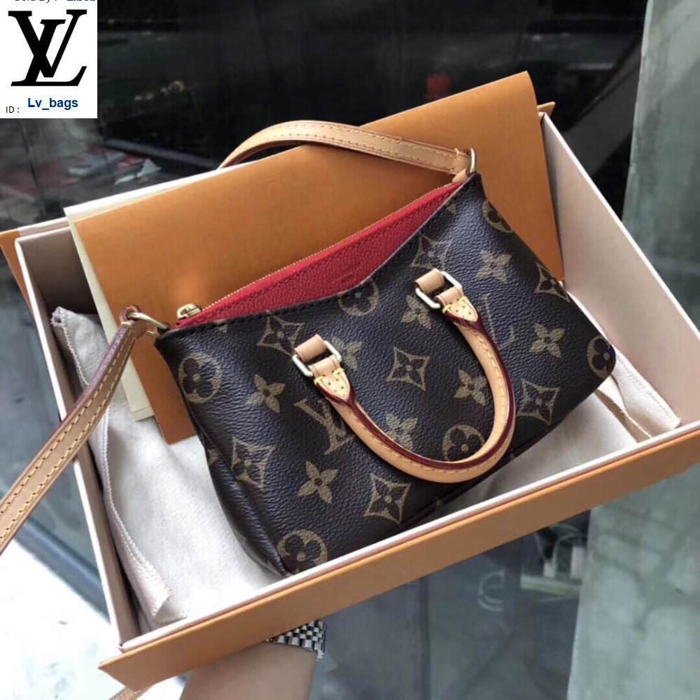 Yangzizhi New Pallas Mini Legendary Nano Classic Old Flower Small Cute Handbags Bags Top Handles Shoulder Bags Totes Evening Cross Body Bag
