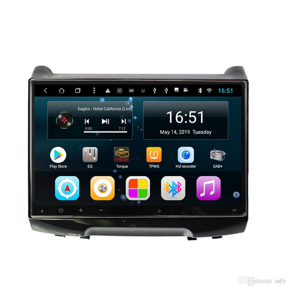 Android car player with precise GPS navigation HD 1080 multimedia player multi-touch screen fast delivery for JAC S3 10inch