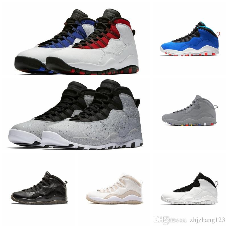 10s Men outdoor Shoes 10 Orlando Tinker Racer Blue Cement Westbrook I'm Back Black White Designer Trainer Sport Sneakers Size 41-47