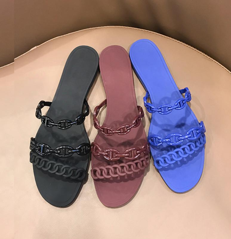 NEW WOMENS LADIES LOW WEDGE JELLY BEAN JELLYS SANDALS SHOES SIZE SUMMER BEACH