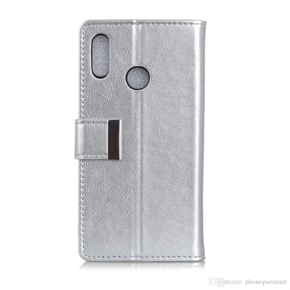 Hasp Napa Pattern Luxury Leather Cover Case For Vodafone Smart C9 N9 Lite N9 E8 V8 N8 X9 Case Wallet Flip Cover Bag