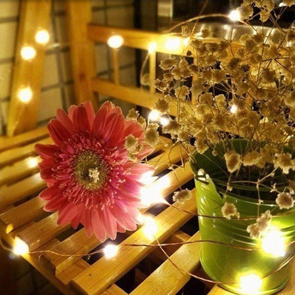Батарея коробка водить Медная декоративный свет Струнный Новогоднее украшение шар свет всегда Яркий 2 Box Красочные Крытый Открытый