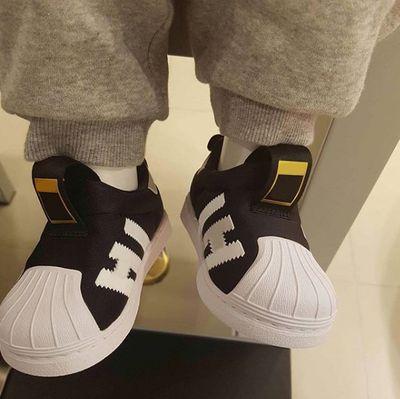 En iyi bebek Superstar Sneaker kız erkek Kaykay Ayakkabı Rahat Ayakkabılar çocuklar Zapatillas Deportivas çocuklar Çocuk Atletik Ayakkabı