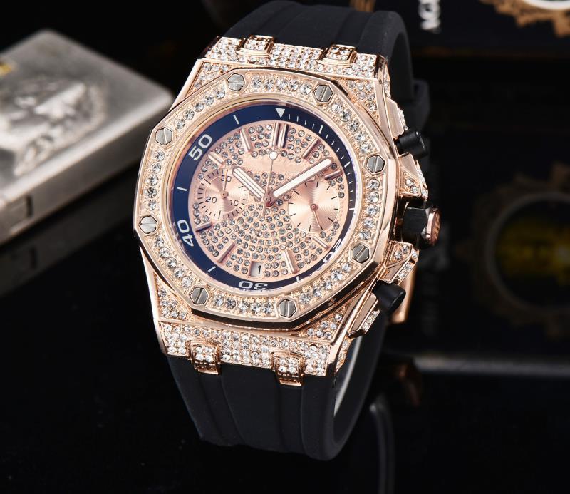 Los hombres superiores de la marca de negocios Reloj Todos los diales trabaja reloj de cuarzo de los hombres Montre homme relojes deportivos de silicona Ejército correa del reloj del calendario