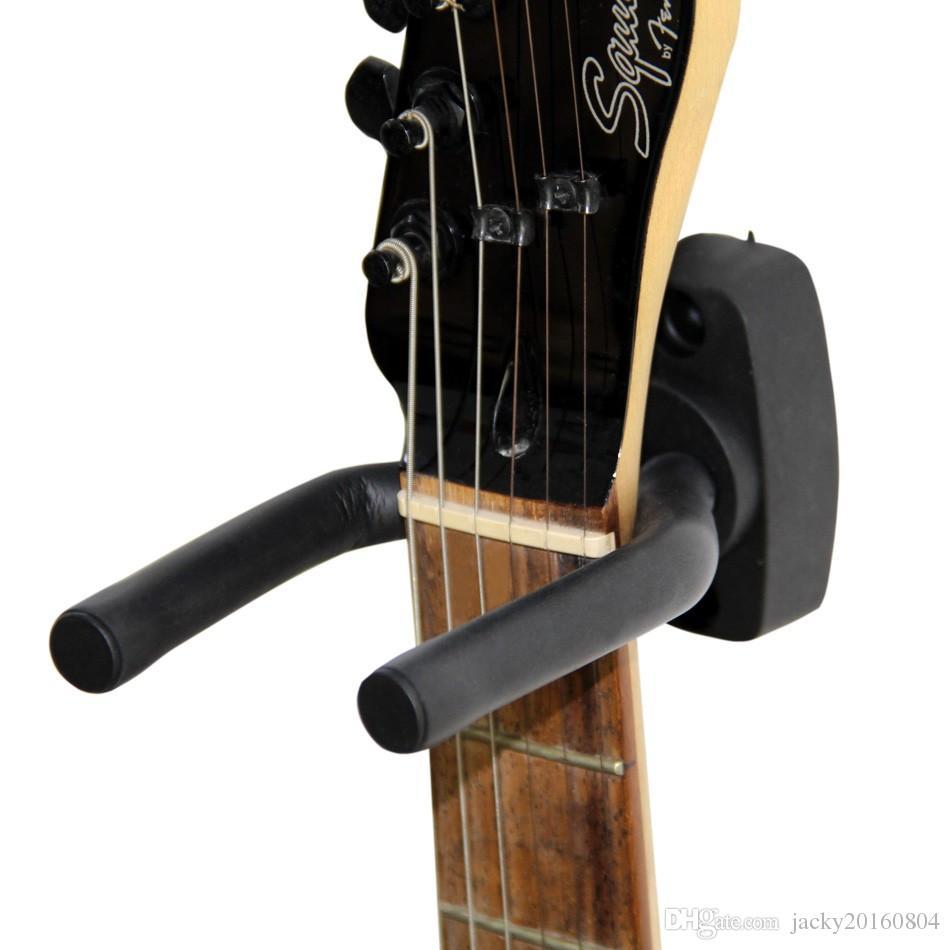 DIAMOEN Durable gancho suspensi/ón de la guitarra de montaje en pared estante del soporte Soporte de la guitarra baja de accesorios