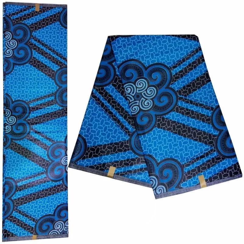 Yeni gelmesi Renkli desen tasarım afrika java balmumu kumaş% 100% pamuk kalite garantisi Ankara balmumu kumaşlar 6 yards! DF-4549