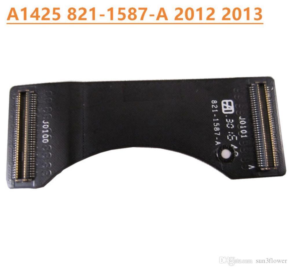 """Cable de placa USB de E / S original para MacBook Pro 13 """"Retina A1425 1425 821-1587-A 821 1587 A 923-0223 2012 2013 Año"""