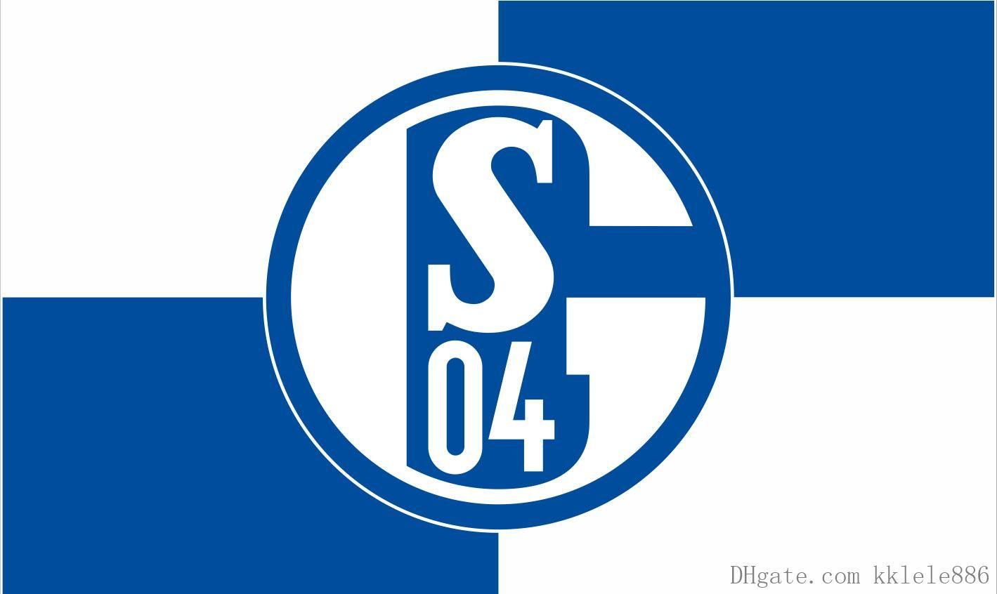 2021 Fc Schalke 04 Flag 90 X 150 Cm Polyester S04 German Football Club Sports Banner From Kklele886 6 04 Dhgate Com