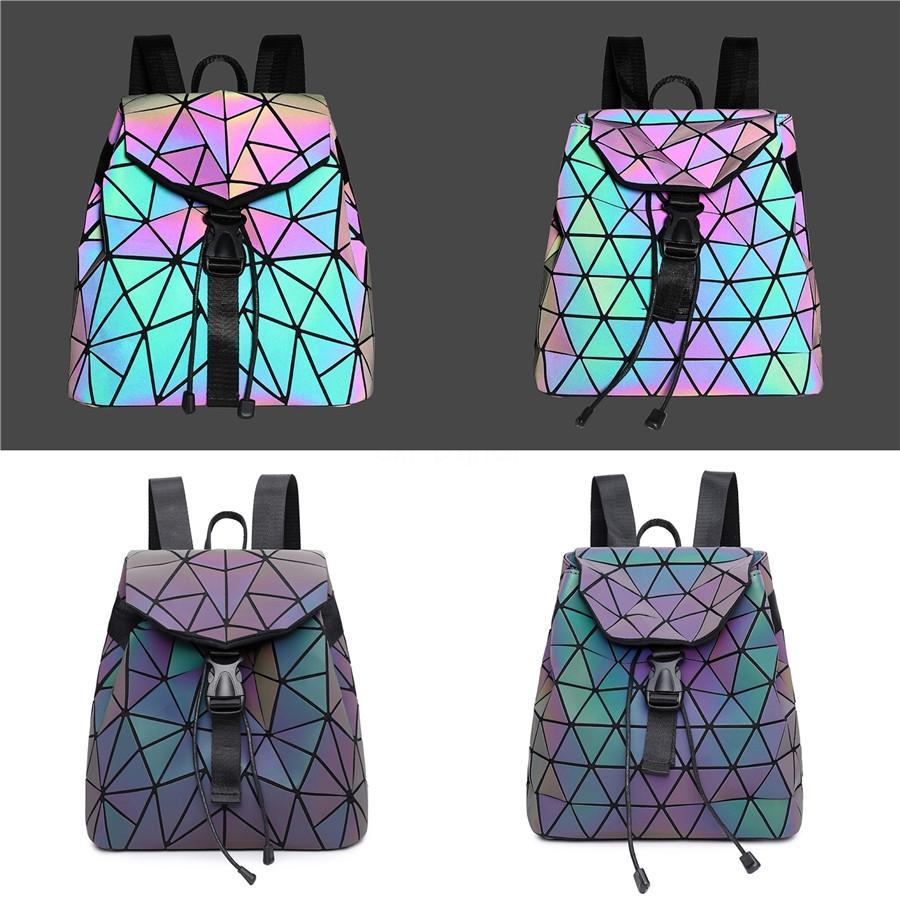 2020 Bolsas Composite Define 6 ombro 1Pcs único saco Laser Designer Luxo Mochila Seta padrão # 524