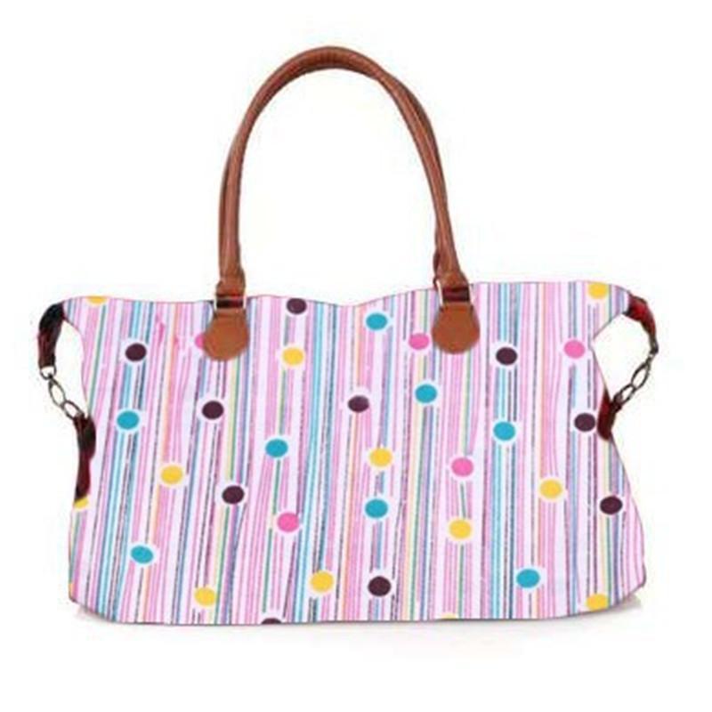 Floral Plaid Dots leopardo Camo Print borsa di grande capienza di viaggio Duffel Donne Borse Tracolle Tote del progettista Fiore Yoga Weekender bag A42201