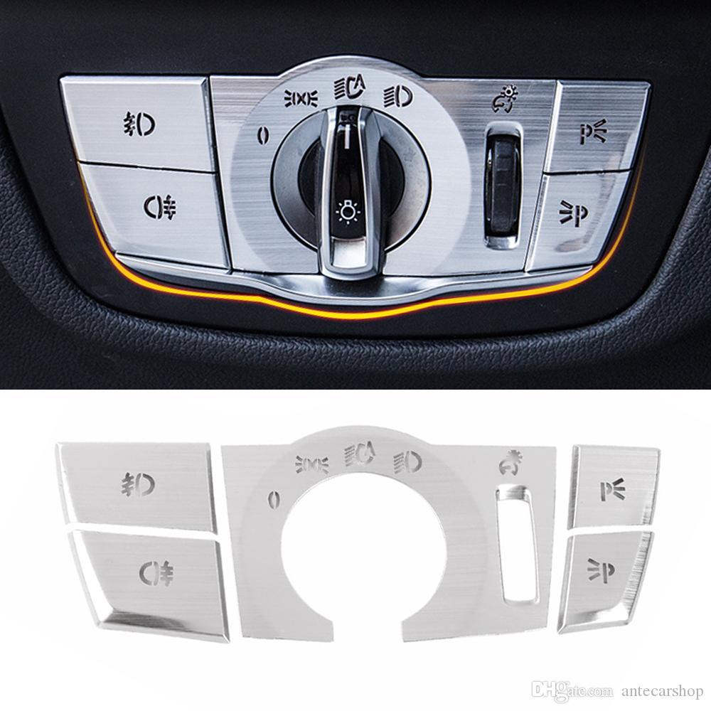 Voiture Accessoires Button Switch Central Multi Media Cover Cadre autocollant Garniture Décoration pour BMW X3 G01 X4 G02 2018-2020