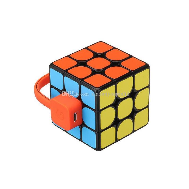 Giiker Super Square Magic Cube con aplicación inteligente Sincronización en tiempo real Sincronización de ciencias Educación de la ciencia con la caja de venta al por menor Free Ship 3001640