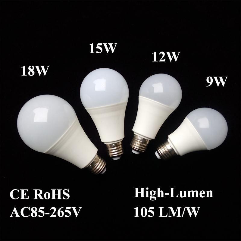 Lampadina a LED lampadine E26 E27 B22 Lampade Energia -Conto risparmi Luce globale 9W 12w 15w 18w 110v 220v 240v Smd2835 intelligente Ic Real Power