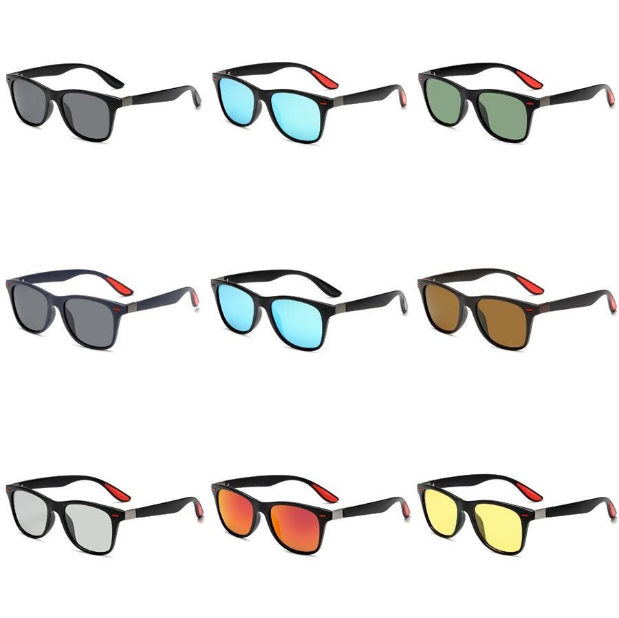 50 1Pcs Moda Txrppr Pilot Homens Mulheres Unisex Clássico óculos de sol do quadro do ouro Brown vidro 58mm Len Óculos Para Driving Venha Box # 967