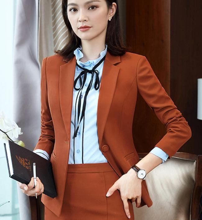 2019 kadın ceket ile ilkbahar ve sonbaharda Yeni stil Uzun kollu moda ile Batı tarzı giysiler @ 11