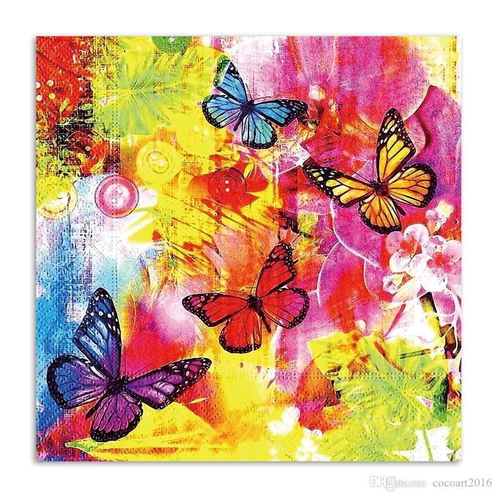 Butterfly Full Drill DIY 5D Diamond Painting Cross Stitch Kits Mosaic Decor Art