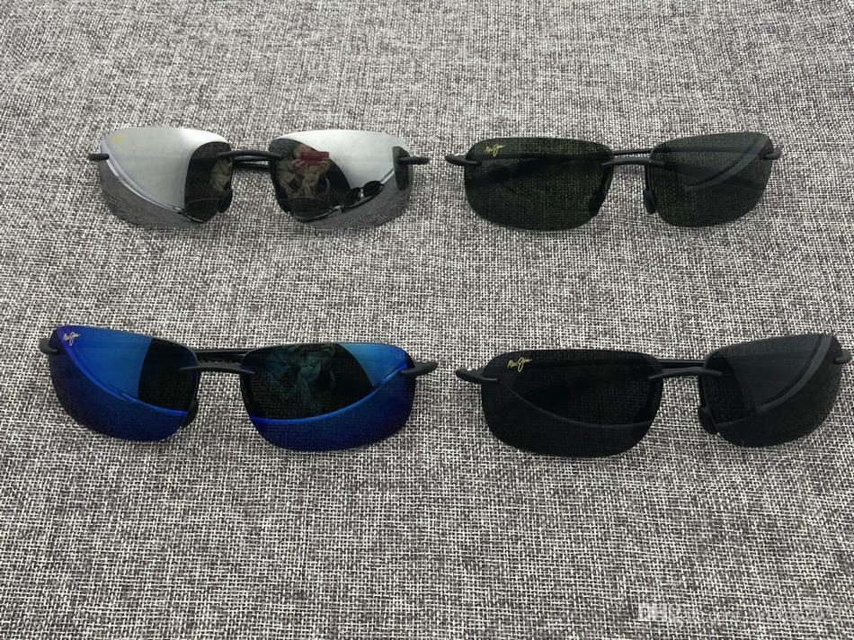 MarkamauijimErkek Güneş Gözlüğü Yüksek Kaliteli UV Koruma Lens Klasik 2021 Moda Lüks Tasarımcılar Güneş Gözlükleri Kadınlar için TR90Silicone Çerçeve Kılıf
