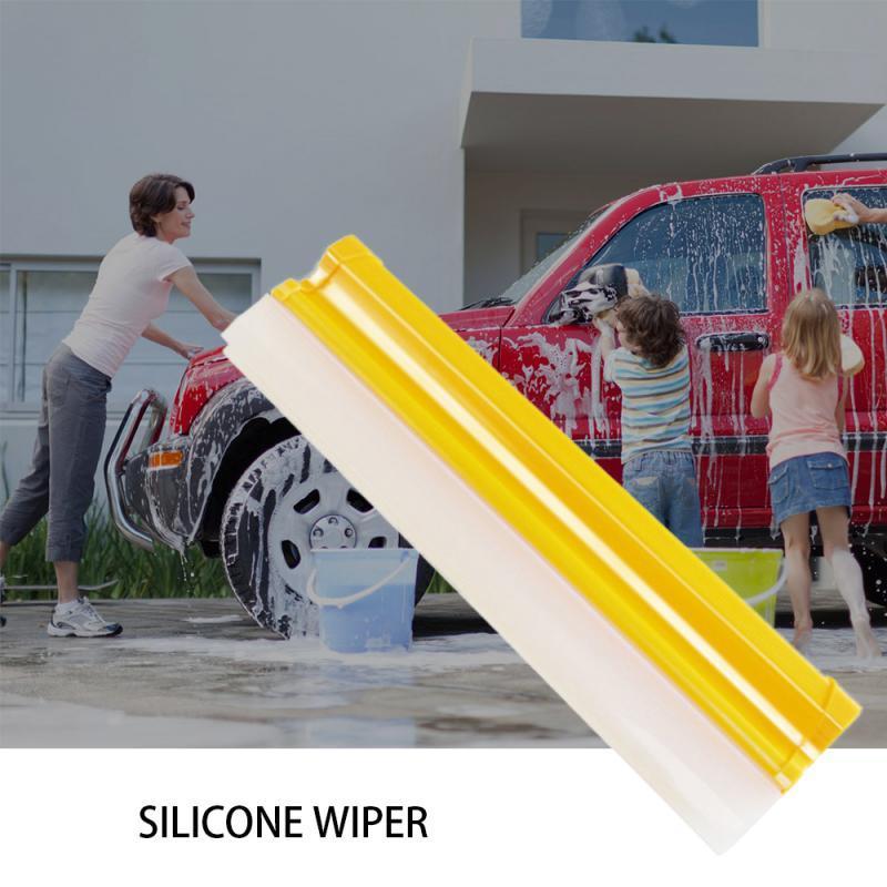 Rascador de silicona Inicio / del agua del coche limpiaparabrisas rascador de cuchilla de la boquilla ventana limpia limpiador en seco IB Lavado de coches Mantenimiento Accesorios para el coche