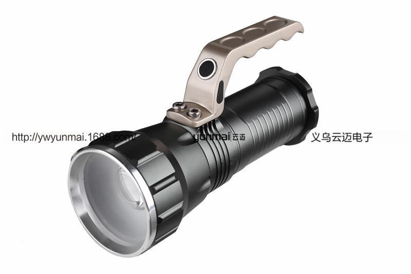 Disparos lámpara de noche largos de la caza de XML T6 Aire libre llevó la linterna de la luz del reflector Miner Exceed luz de la linterna de mano