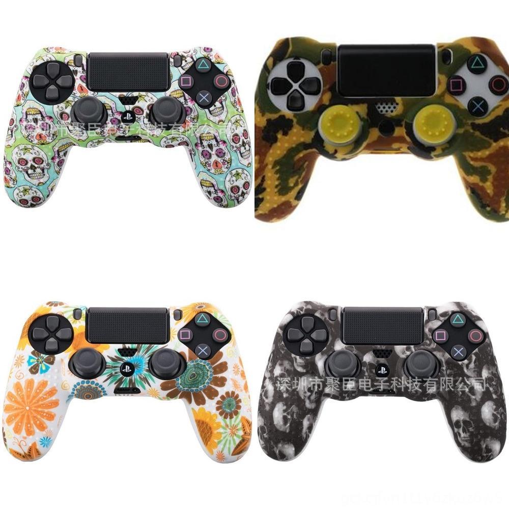 Playstation Kontrolörü DualShock 4 PS 4 V1 Yedek Kamuflaj Camo için NTKV5 PS4 Tam Konut 4 Shell Kılıf Kapak Mod Takımı düğmeleri