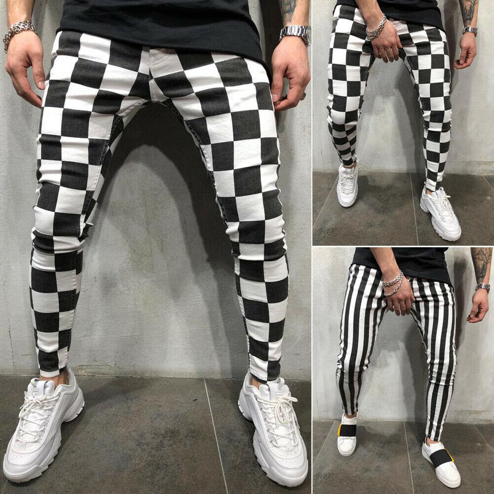 Hommes Mode Pantalon Pantalon Streetwear Milan Slim Jogger Skinny Skinny Crayon Confortable Hip Hop Hop Casual S-XXL