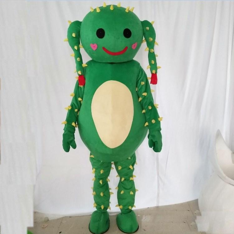 2019 Sıcak yeni kaktüs maskot karikatür bebek giyim bitki bebekler Noel ücretsiz dağıtım