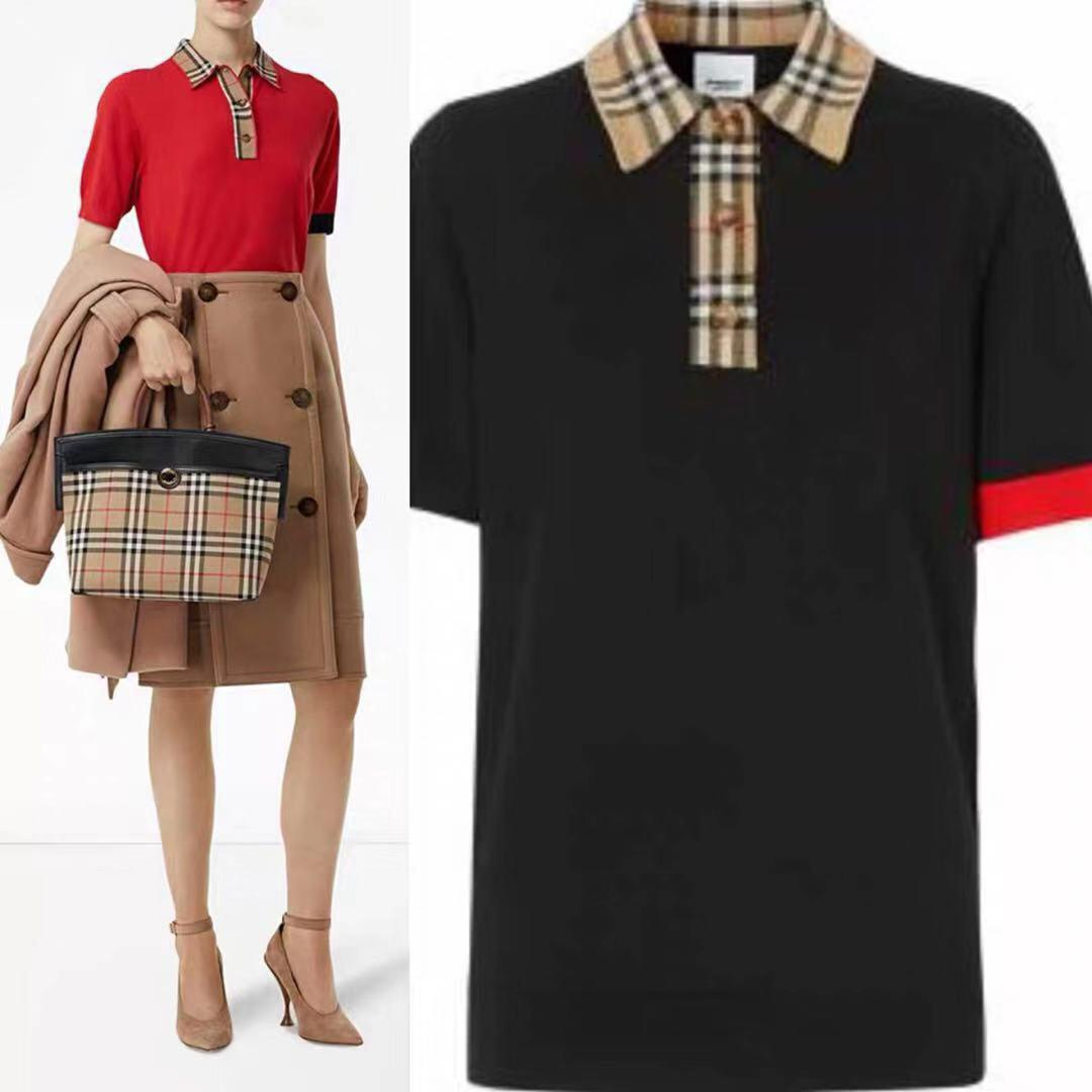 2020 de alta calidad de las mujeres de manga corta de primavera y verano de moda camiseta casual y cómodo de las mujeres clothing796J