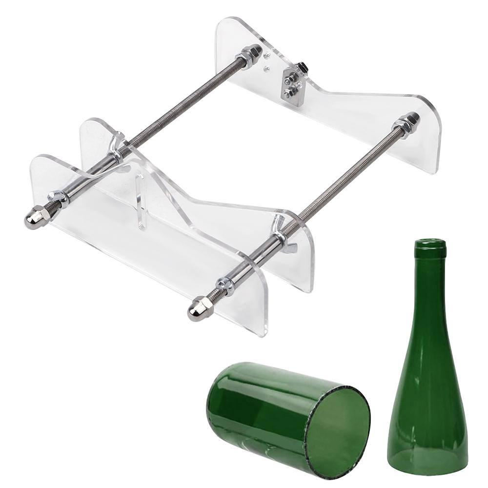 Garrafa NICEYARD vidro profissional cortador redondo Garrafa máquina de corte para ferramentas de corte Wine Beer Decoração DIY Cut
