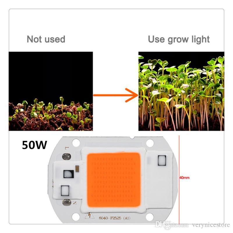 COB Led lumière plein spectre LED plante croissant ampoule lampe pour jardin Patio Fournitures Pelouse pratique