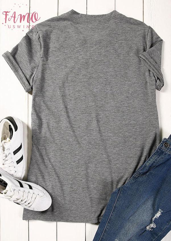2019 maglietta di modo delle donne Beati Mama Lettera Stampa vestiti estivi manica corta T Shirt casual femminile parti superiori allentate Tee Lady di base