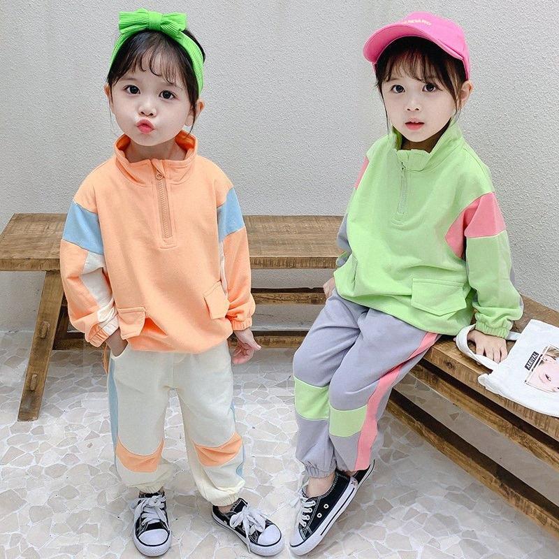 2020 2020 Hombres Mujeres resorte de la ropa de otoño Conjunto Moda juego del ocio chaquetas Pantalones para niños + niños chándal ropa nryz #