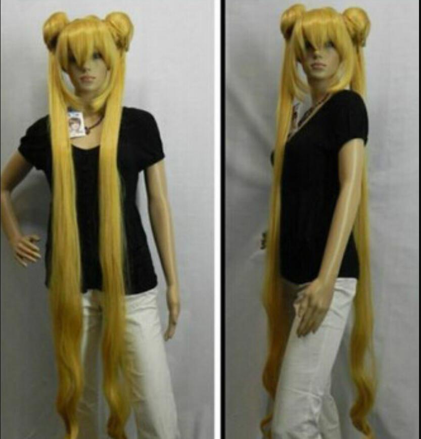 WIG shipping TENGEN TOPP Gurren Lagann Yoko Red Long Ponytail Anime Cosplay Parrucca del partito