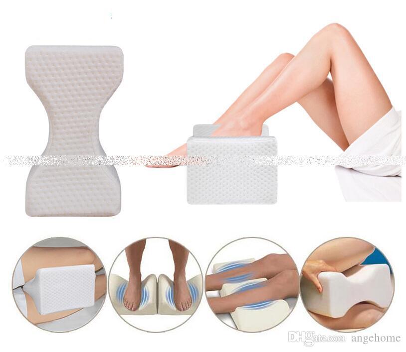 Almohada ortopédica para rodilla para el alivio de la ciática, dolor de espalda, dolor en las piernas, embarazo, cadera y dolor en las articulaciones - Almohada para dormir con contorno de cuña de espuma viscoelástica