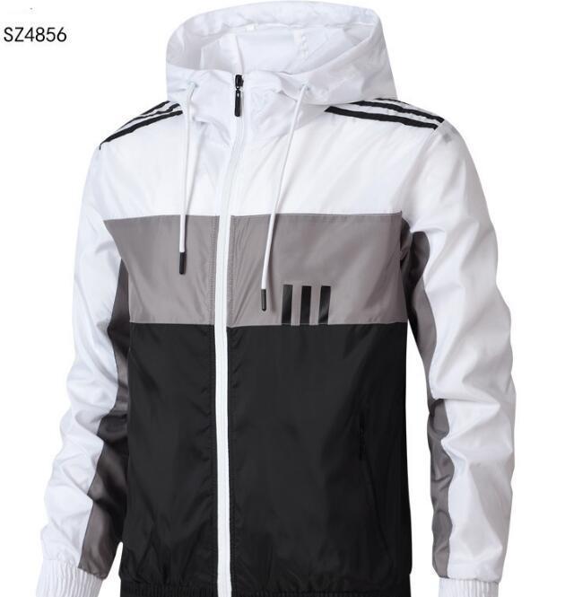 Spor ceket Dış Giyim erkek bahar yeni açık ince kesit nefes gevşek öğrenci çalıştıran ceket gündelik kapüşonlu ceketler rüzgarlık