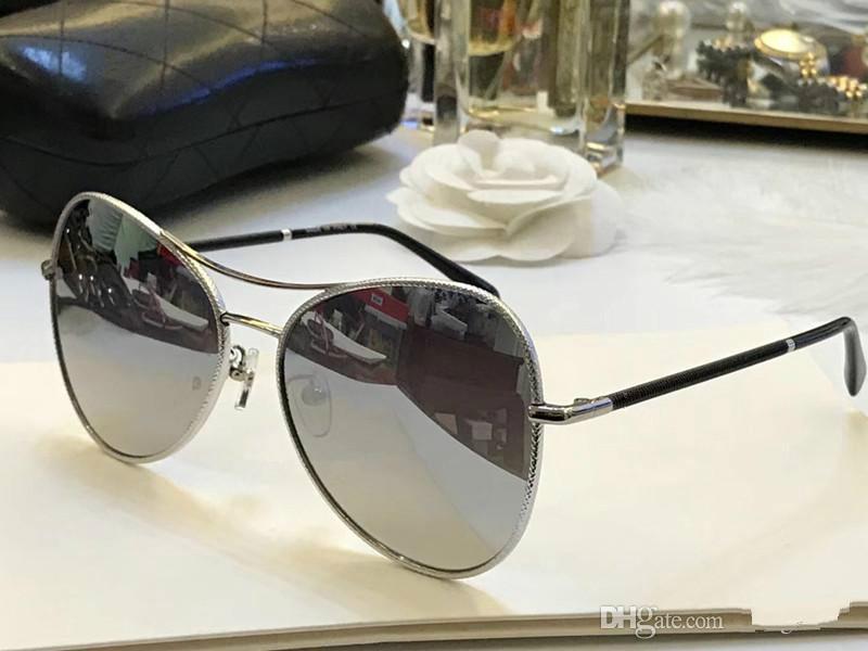 Marco Moda 4227 gafas de sol para mujer de marca deisng populares oval de lujo UV400 lente del diseño del estilo de la mariposa Adumbral verano vienen con el caso