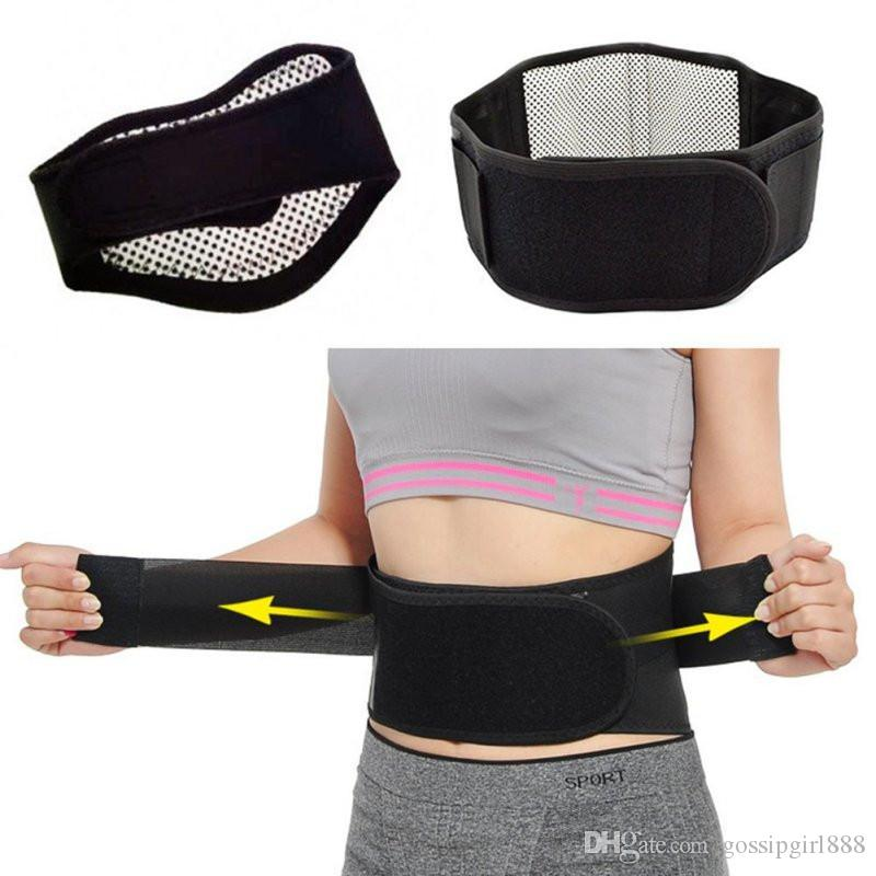 Adjustable Waist Self-heating Magnetic Therapy Waist Belt Support Back Waist Support Brace Double Belt Lumbar Spine