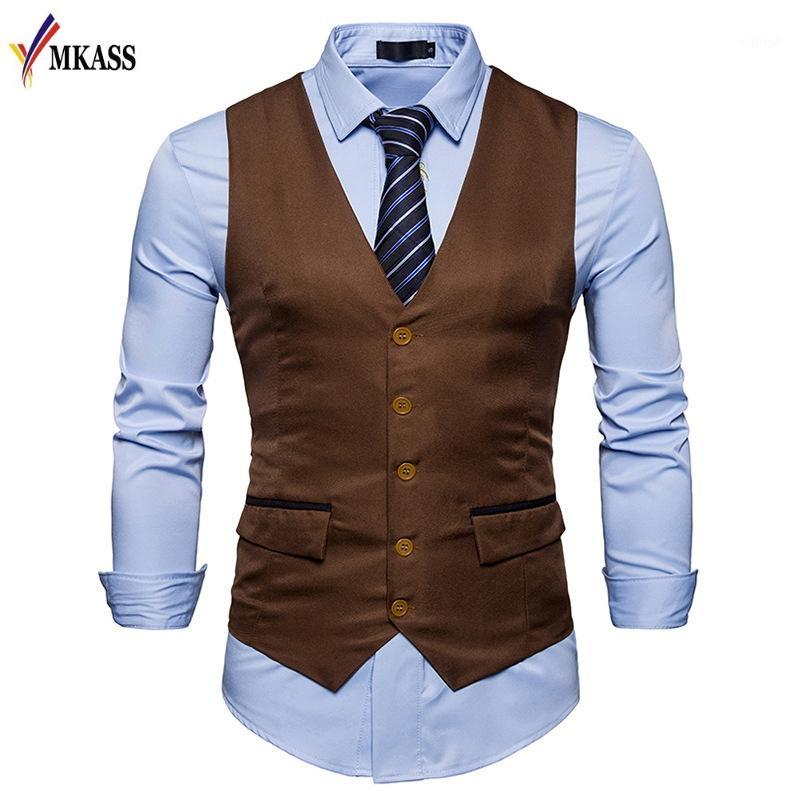 New Spring Vest Mens Suits Men Wedding Jacket Trajes Para Hombre Suits For Men 3 Colors Hot Sale1