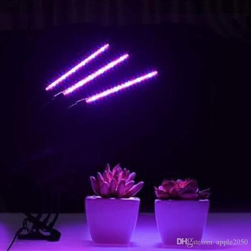 أدى النمو ضوء 5V USB أدى مصنع مصابيح الطيف الكامل النباتية مصباح للخضار في الأماكن المغلقة زهرة الشتلات مع وحدة تحكم