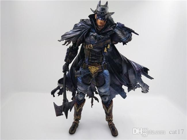 Catoyfirm 26cm Varyant Çal Sanat Kai Batman Zamansız Vahşi Batı DC Comic Eylem Şekil Model Oyuncaklar