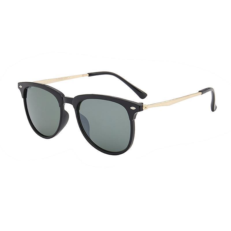 ücretsiz durumlarda ve kutu 4174 ile Gözlüğü Lensler UV400 Yüksek kaliteli Marka Güneş Gözlüğü Bay Bayan Moda Vintage Ayna Güneş gözlüğü