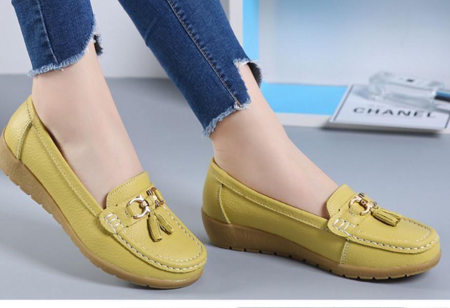 Gratis enviar 2018 nuevo estilo Primavera y otoño Madre de poca profundidad Pendiente talón mujer Zapatos