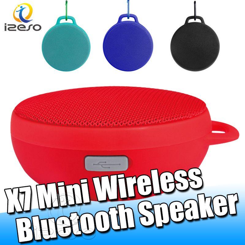 X7 Portable Wireless Bluetooth Speaker Waterproof 3D HiFi Stereo Surround Mini Speaker Travel Home Theater Surround Dual Unit Speakers izeso