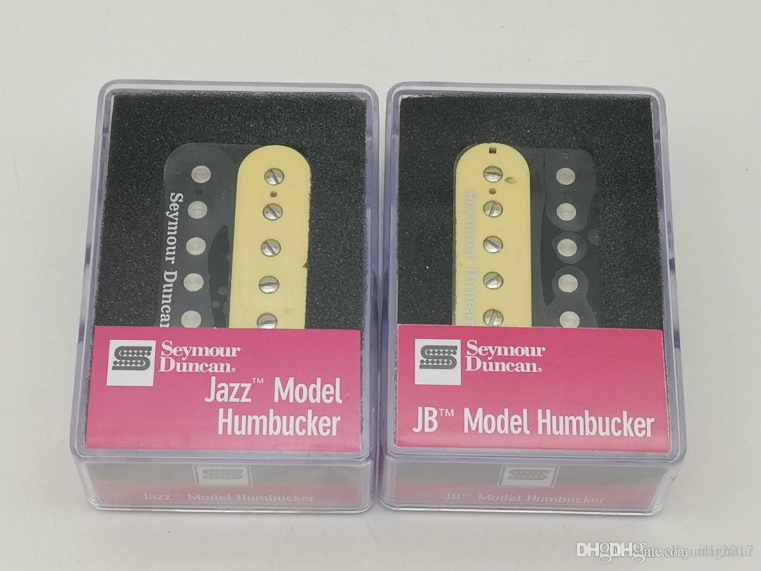 Rare Seymour Duncan Humbucker Pickup SH2n And SH4 JB Model 4C Guitar Pickups Set Zebra / Black With packaging