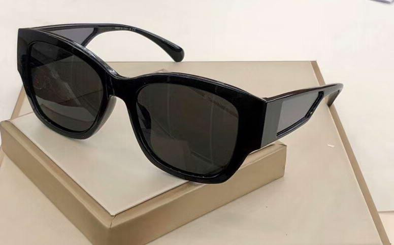 Женщины Sol Black 5429 с Gafas Grey Greates Box Shades de Затененные солнцезащитные очки NCWHN