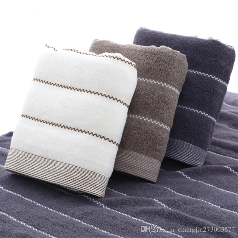 Фабрика прямой оптовой хлопок мягкое банное полотенце обычный сломанный взрослый хлопок утолщение банное полотенце